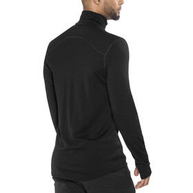 Icebreaker M's Tech Top LS Half Zip Black